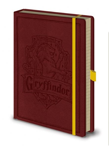 Harry Potter Gryffindor Leather Look A5 Notebook